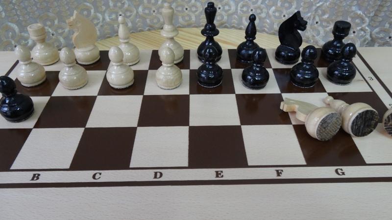шах табла - голяма