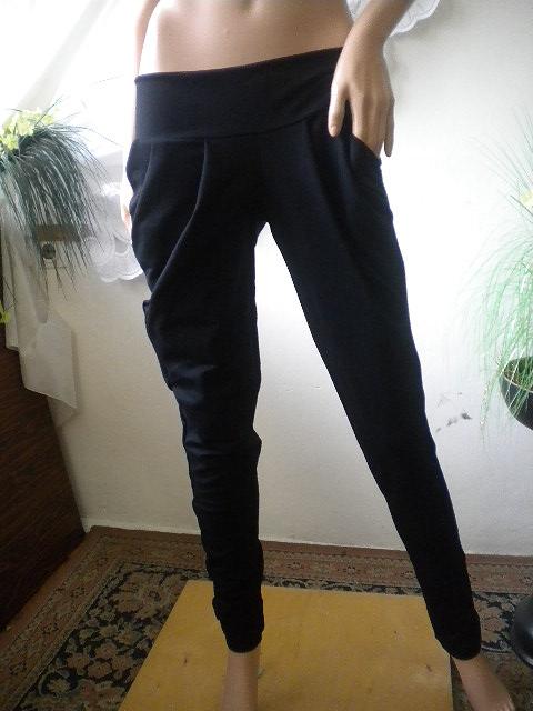 Елегантен дамски панталон с чупки