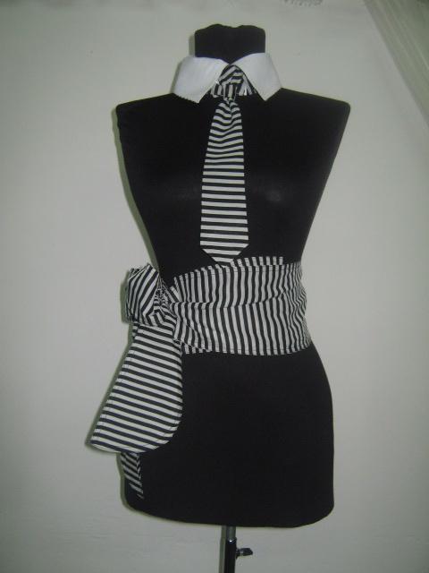 Елегантен комплект аксесоари -яка ,колан и вратовръзка