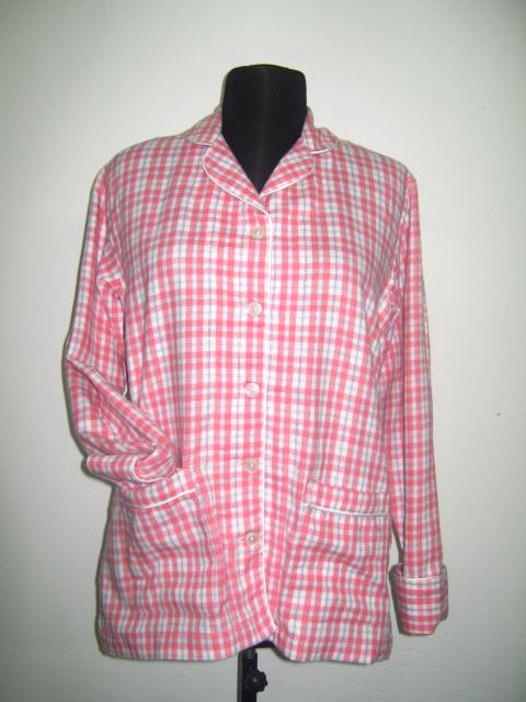 Горна част на дамска пижама в розово