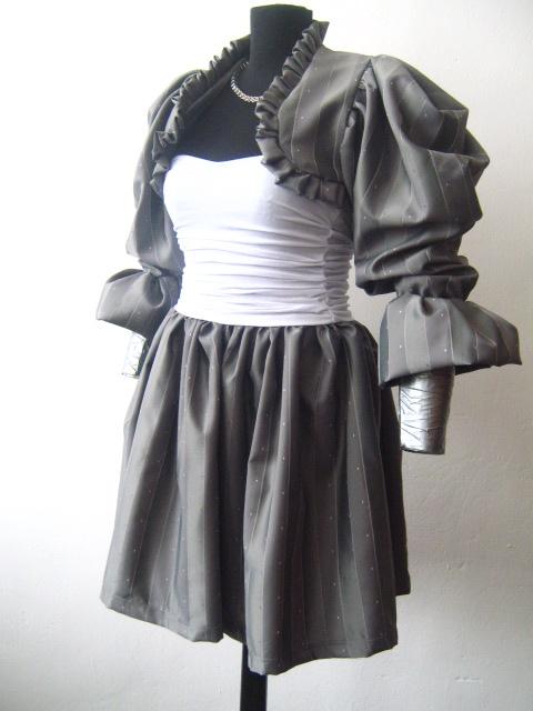 Нестандартен костюм -рокля  и болеро