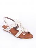 бели сандали Мери