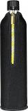 Стъклена бутилка 1 брой с калъф от неопрен, черен, 500 ml BIODORA