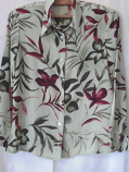 дамска риза цветна