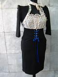 Спортно елегантна дънкова рокля с болеро