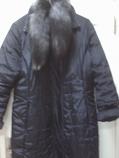 дамско зимно палто яка еко кожа