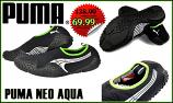 Puma Aqua- мъжки спортни обувки - черно