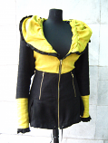 Елегантно дамско манто яке -голям размер