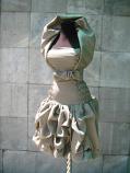 Вечерна рокля , стилна и елегантна , с аксесуари