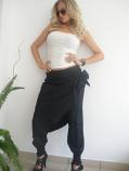 Дамски панталон с ластици и допълнително парче