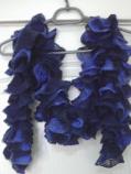актуален шал плетен