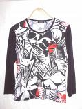 дамска блуза дълъг ръкав цветна