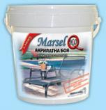 Марсел  Акрилатна боя дърво и метал  GLOSS 10 л