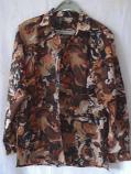 дамска риза дълъг ръкав цветна