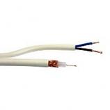Алармен кабел за видеонаблюдение RG59 + 2x0,50mm