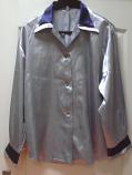 дамска риза в сиво
