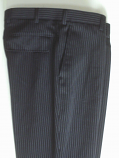 дамски панталон черен райе